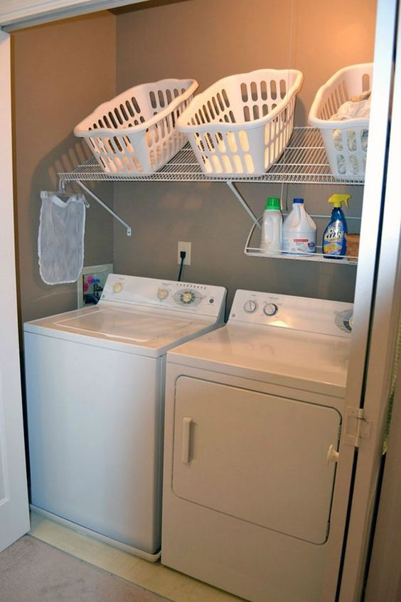 39 Ideas para organizar tu cuarto de lavado | Como Organizar la Casa ...