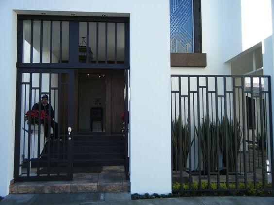 Disenos rejas puertas exteriores economicas decoracion - Rejas exteriores ...