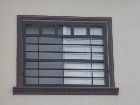 40 disenos rejas puertas ventanas 10 decoracion de interiores fachadas para casas como - Proteccion para casas ...