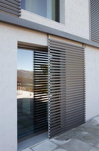 40 dise os de rejas para puertas y ventanas como organizar la casa fachadas decoracion de - Persianas para balcones ...