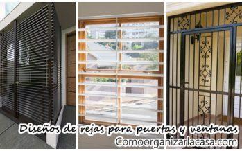 40 diseños de rejas para puertas y ventanas