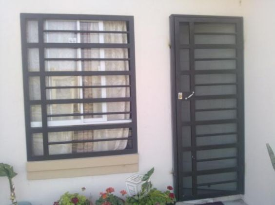 40 Disenos De Rejas Para Puertas Y Ventanas Como Organizar La Casa