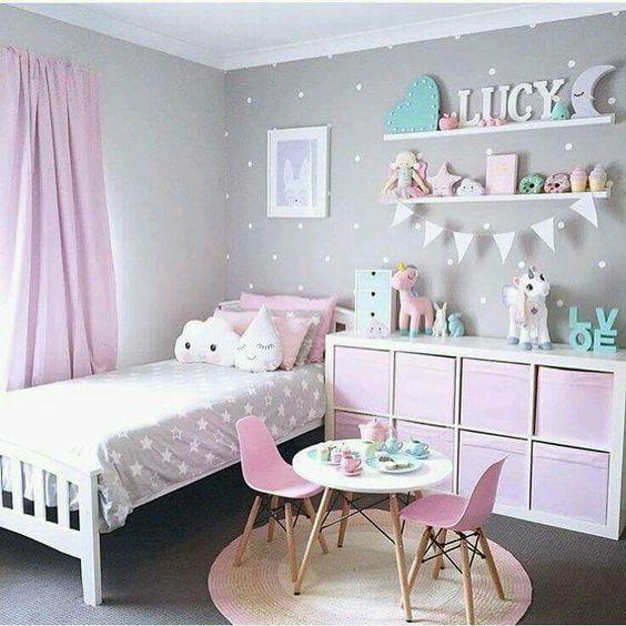 Colores para pintar habitaciones infantiles decoracion for Colores de moda para pintar habitaciones