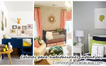 Colores para pintar habitaciones infantiles
