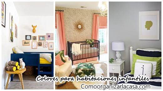 Colores para pintar habitaciones infantiles | Decoracion de ...