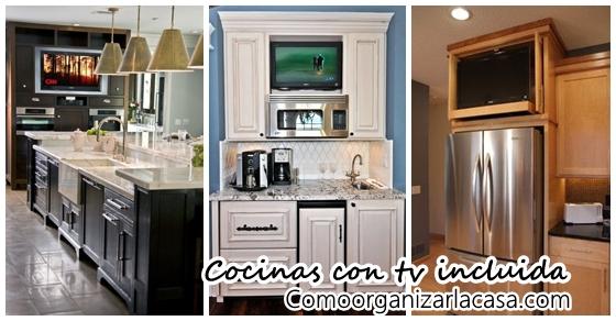 Decoraci n de cocinas con tv incluida decoracion de - Television para cocina ...