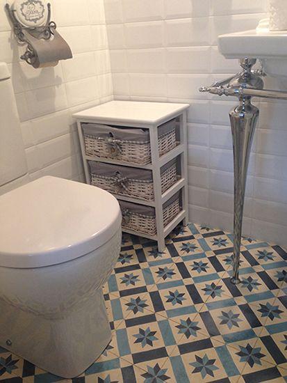 Disenos suelos hidraulicos bano 18 decoracion de for Azulejo hidraulico bano