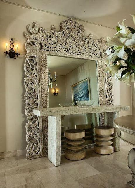 Espejos molduras interiores mas elegantes 14 for Espejos decoracion interiores