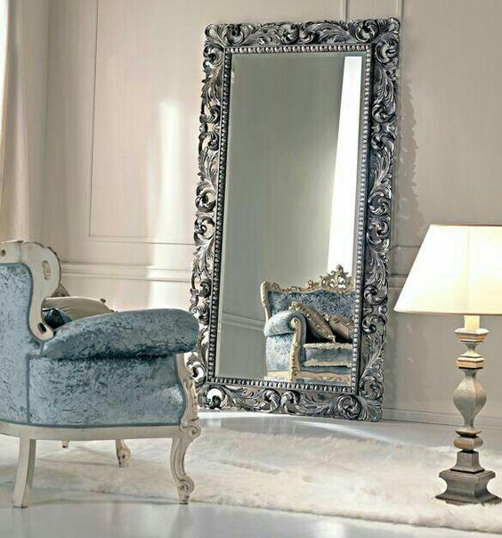 Espejos molduras interiores mas elegantes 9 decoracion for Molduras para espejos online