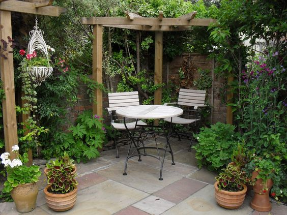 ideas-aprovechar-patio-pequeno (18) | Decoracion de interiores ...