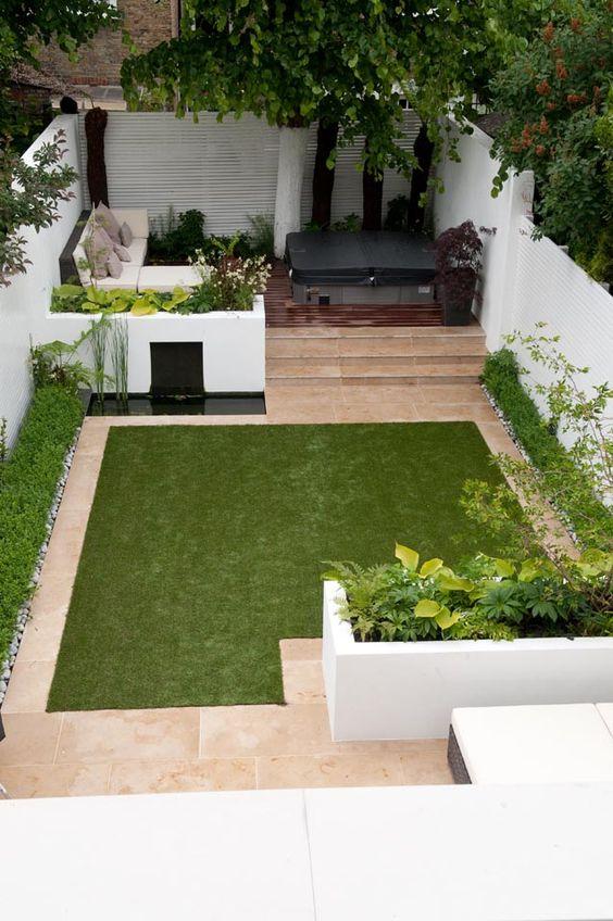 Ideas aprovechar patio pequeno 20 decoracion de - Patio pequeno ideas ...