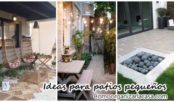 Ideas para decorar y organizar tu hogar - Patio pequeno ideas ...