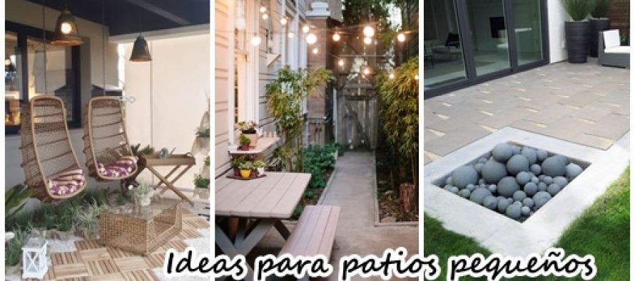Ideas para aprovechar un patio peque o curso de for Ideas jardin pequeno patio