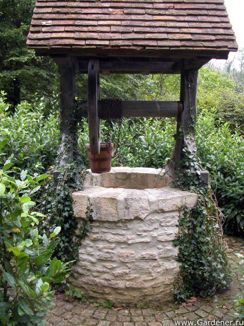 Ideas para decorar tu jardín con pozos de los deseos