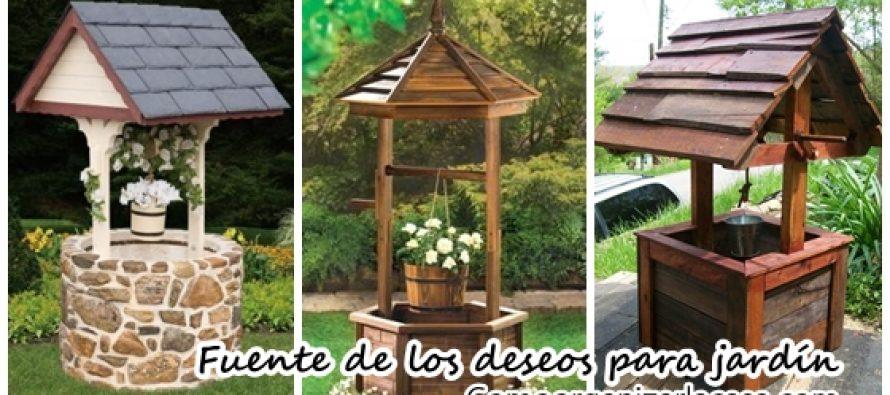 Ideas para decorar tu jard n con pozos de los deseos for Casa y jardin tienda decoracion
