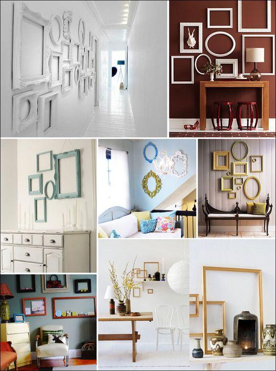 Ideas Decorar Marcos Fotos 19 - Decorar-con-marcos-de-fotos