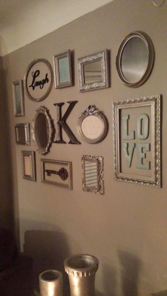 ideas-decorar-marcos-fotos (25)   Decoracion de interiores Fachadas ...