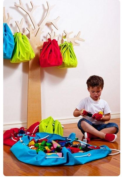Ideas para organizar las cosas de tus hijos