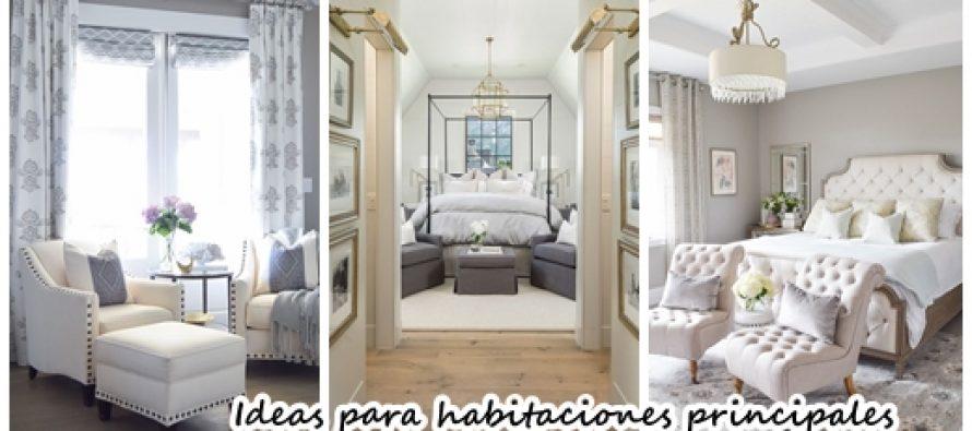 Impresionante decoraci n de habitaciones principales for Decoracion habitaciones principales