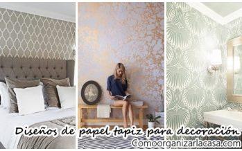 Los 38 mejores diseños de papel tapiz para decoración de interiores