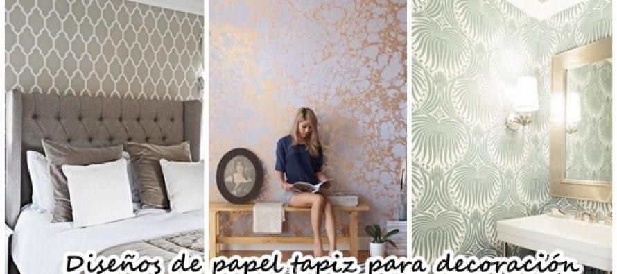 Los 38 mejores dise os de papel tapiz para decoraci n de for Aprender diseno de interiores