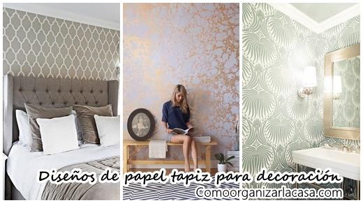 Los 38 mejores dise os de papel tapiz para decoraci n de for Cursos de decoracion de interiores en montevideo