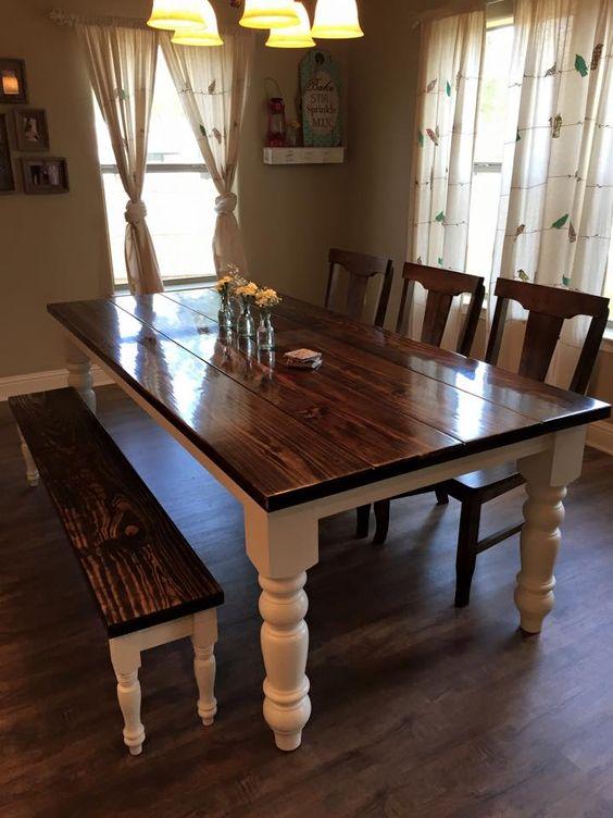 Los mejores 30 diseños de mesas para comedor | Decoracion de ...
