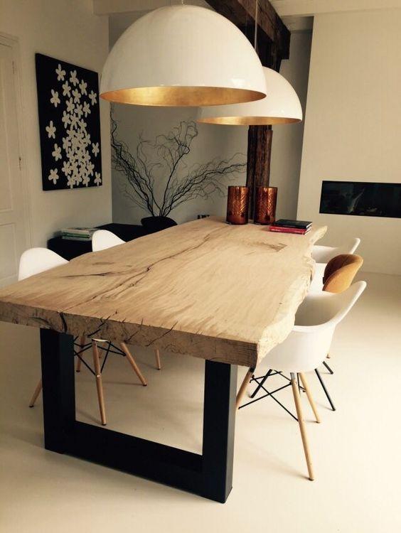 los-mejores-30-disenos-mesas-comedor (30) | Como Organizar la Casa ...