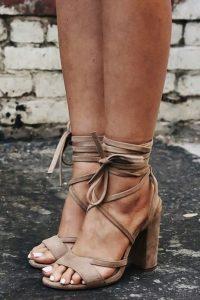 Sandalias lace up primavera-verano