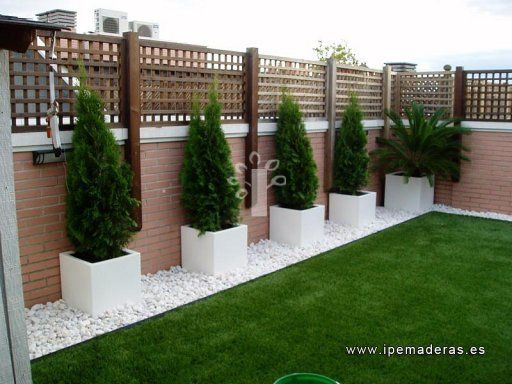 28 disenos bardas cercos te encantaran casa 1 for Casa jardin decoracion