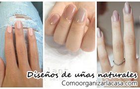 30 Diseños para lograr un manicure extra natural
