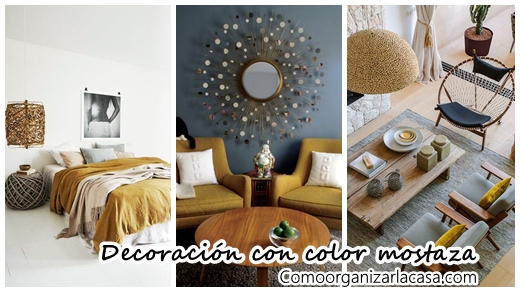 30 ideas para decorar tu casa con el color mostaza for Tips para decorar tu casa