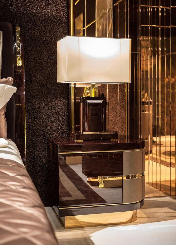30 Mesas de noche lujosas para tu recamara