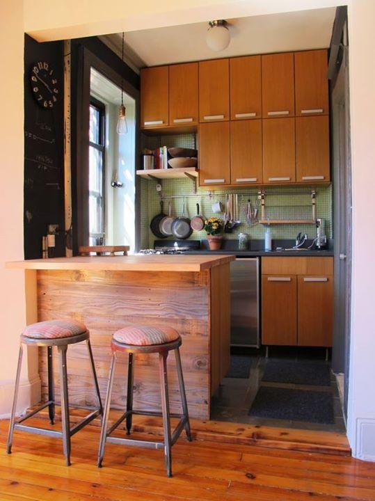 31 ideas diseno islas desayunadoras barras cocina 19 for Ideas para barras de cocina
