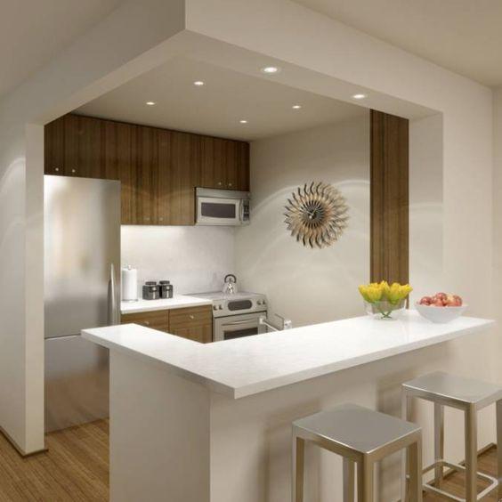 31 ideas diseno islas desayunadoras barras cocina 2 for Ideas para barras de cocina