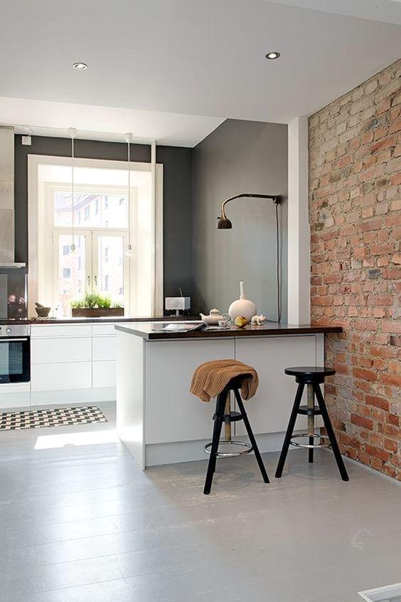 31 ideas diseno islas desayunadoras barras cocina 21 for Disenos de barras para cocina