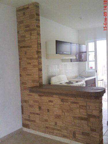 31 ideas diseno islas desayunadoras barras cocina 23 for Barras de cocina de concreto