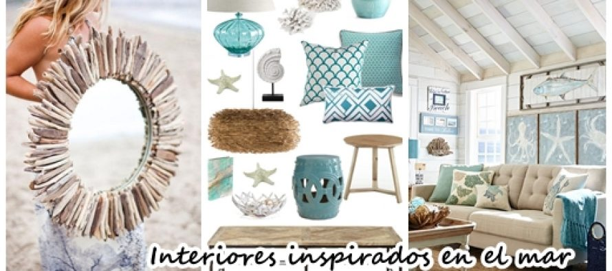 32 ideas para decorar tu casa inspirandote en el mar for Ideas para decorar la casa