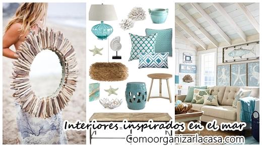 32 ideas para decorar tu casa inspirandote en el mar for Ideas para tu casa decoracion