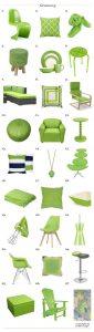 33 ideas para decorar tu casa con greenery el color del año