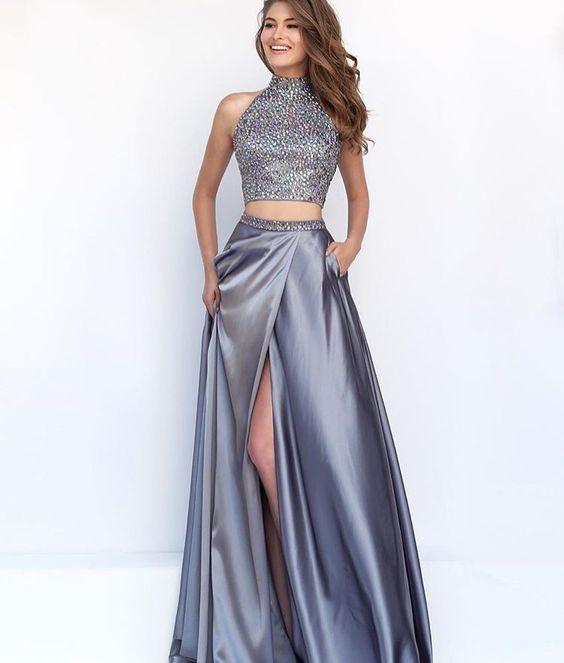 Vestidos en dos piezas para fiestas