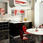 34 Cocinas modernas con detalles rojos que amarás