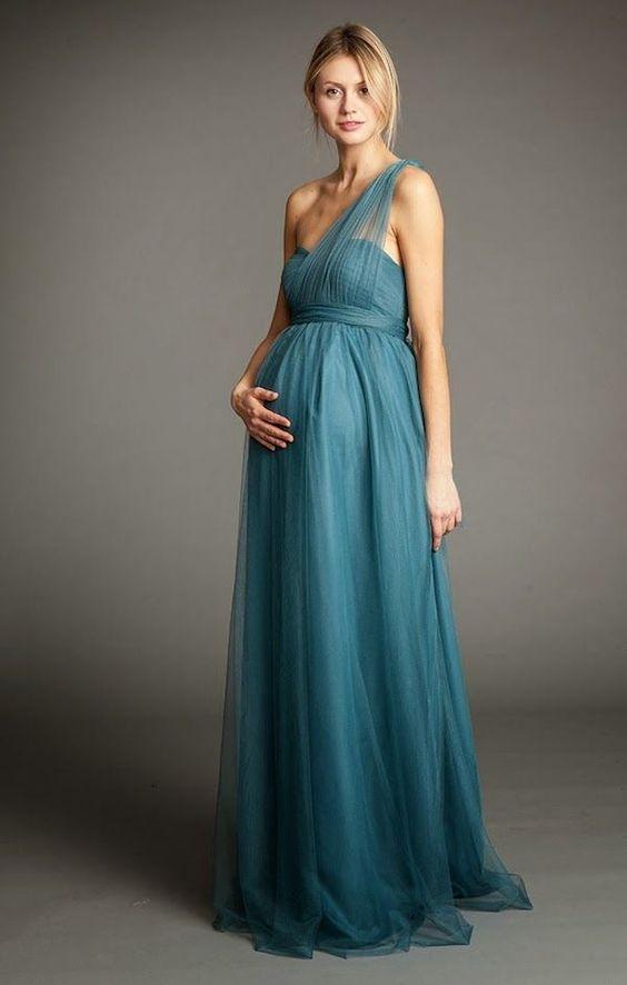 Patron vestido fiesta embarazada