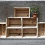 36 creativas ideas para reutilizar cajas de madera