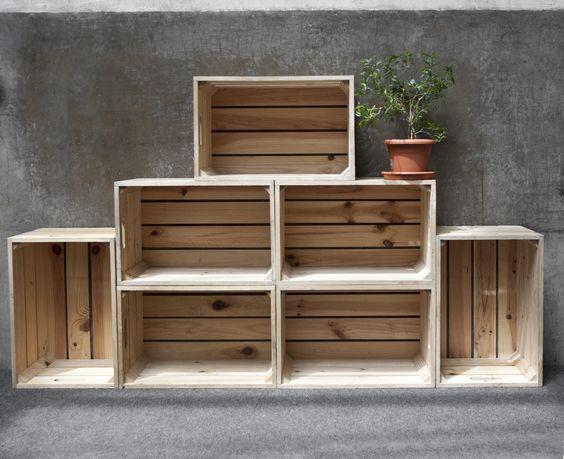 36 creativas ideas reutilizar cajas madera 16 - Ideas para reciclar cajas de madera ...