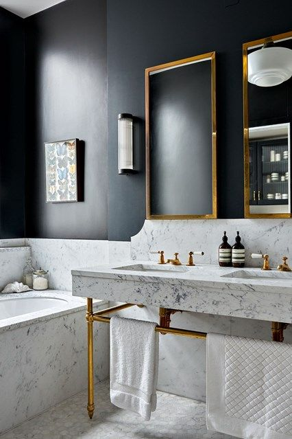 36 marble details to decorate your bathroom