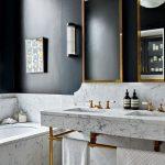36 detalles en marmol para decorar tu baño