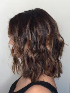 Mechas balayage para morenas en cabello corto (1)