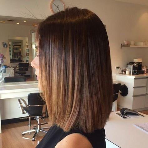 Morenas con pelo corto