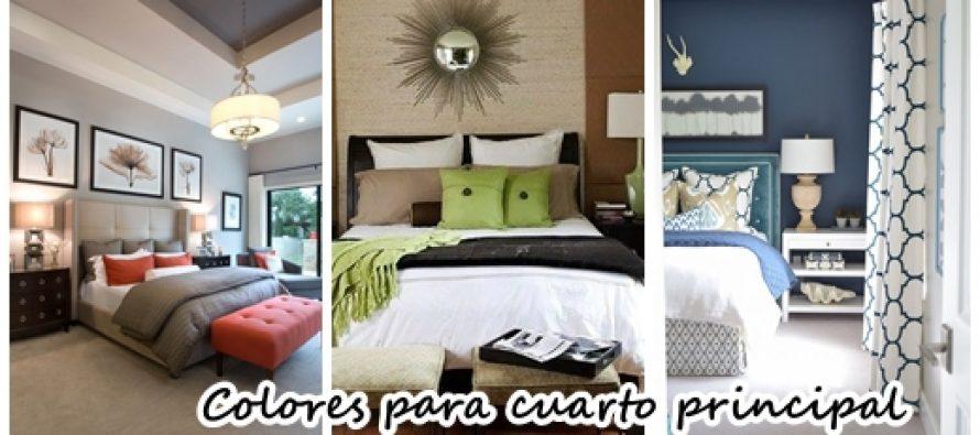 Colores para pintar un cuarto principal curso de - Colores para pintar la habitacion ...
